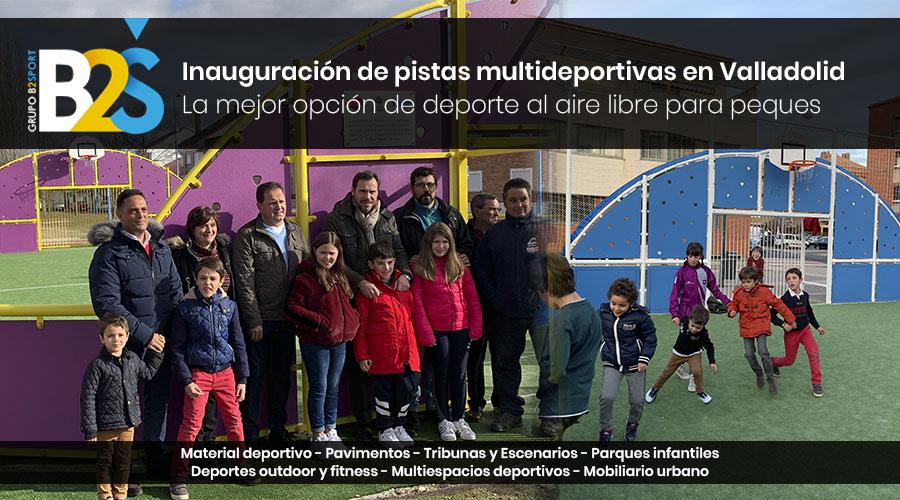 NUESTRO PATROCINADOR GRUPO B2SPORT INAUGURA 2 ESPACIOS MULTIDEPORTIVOS